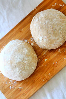 Pizza Dough - uses the traditional Italian tippo 00 flour plus spelt flour for additional nuttiness.